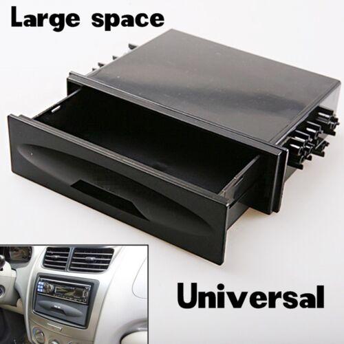 For Universal Deluxe Car Auto Din Radio Installation Pocket  Kit Storage Box