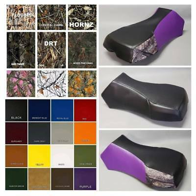 2-TONE or 3-TONE Polaris Sportsman 400 Seat Cover 2005-2009 in 25 COLORS