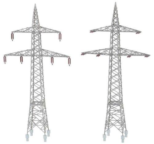 #NEU in OVP## Faller 130898 H0  2 Freileitungsmasten 110 kV