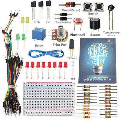 SunFounder Universal w/ Project Starter Kit For Arduino UNO R3 Mega2560 Mega328