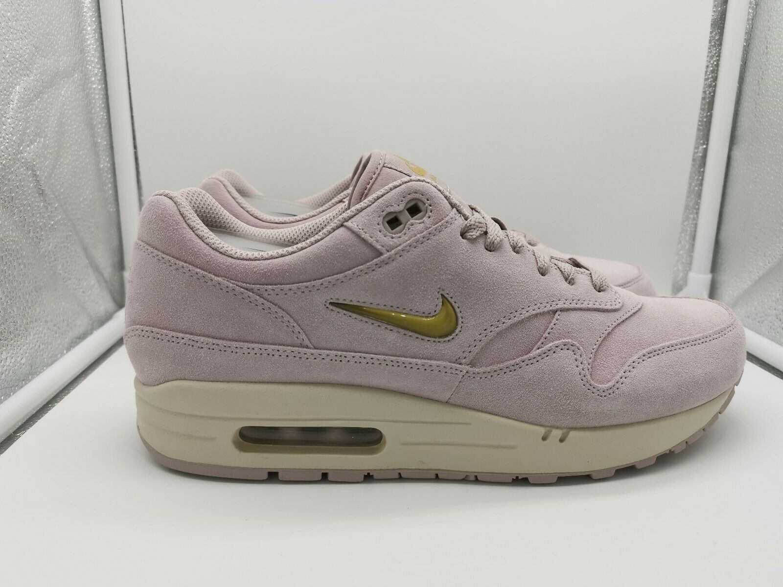 Nike Air Max 1 Premium SC Particle pink Metallic gold 918354-601
