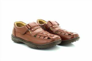 Open-Minded Scimitarra M 657 Punta Chiusa Fodera In Pelle Estivo Casual Sandali Di Scarpe Men's Shoes