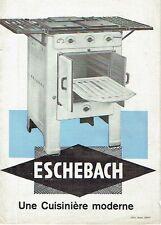 Eschebach Radeberg Prospekt Une Cuisinière moderne 1936 Herd