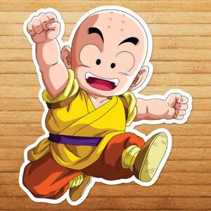 Details About Krillin Dragon Kid Kuririn Son Ball Goku Car Die Cut Window Vinyl Decal Sticker