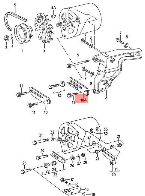 Buy Genuine Volkswagen Angled Bracket Nos Golf Jetta Passat 1g 31