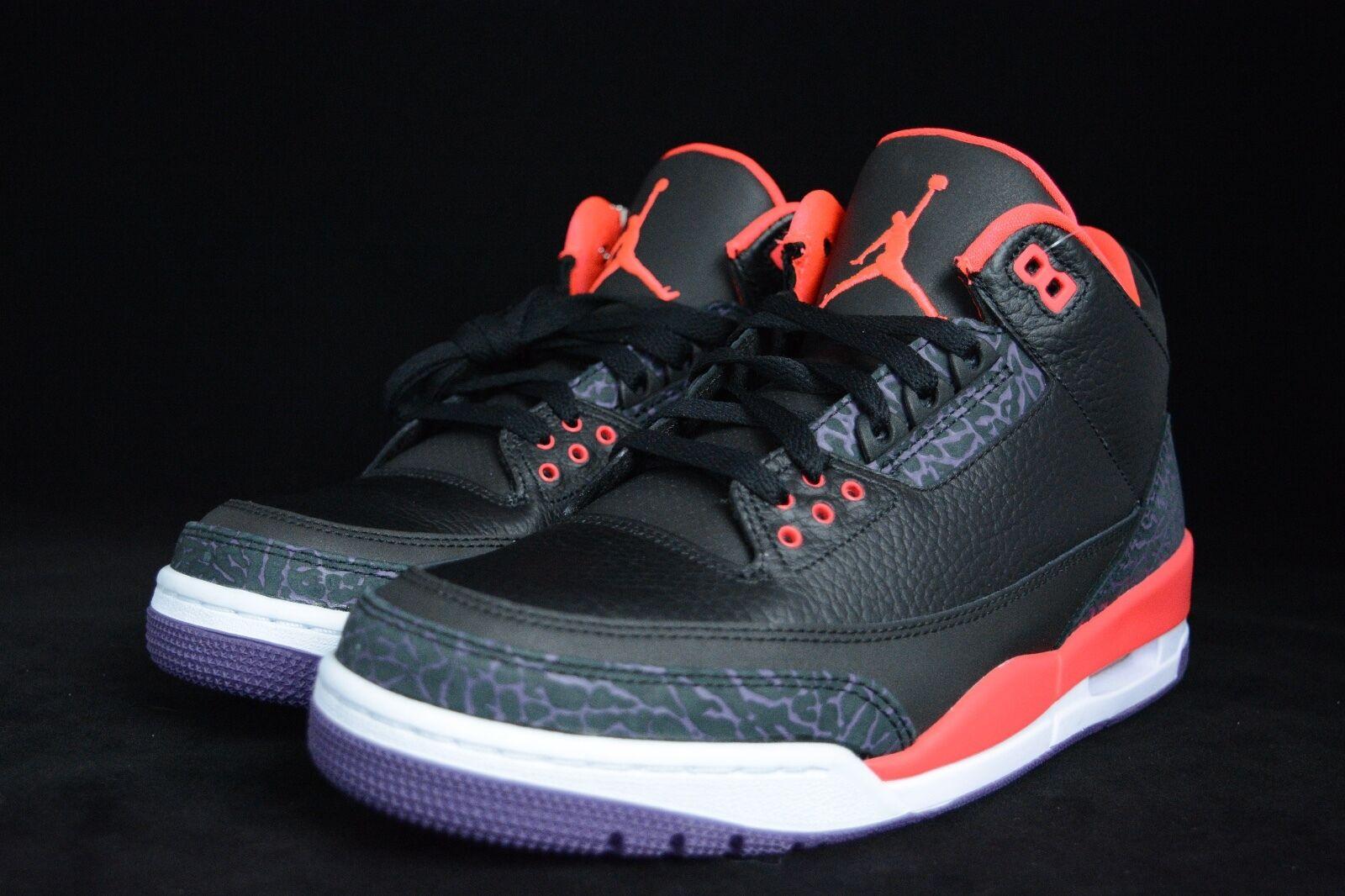 official photos 54bd7 98048 ... 2018 Nike Air Jordan 3 retro 9,5 9,5 9,5 Negro ...