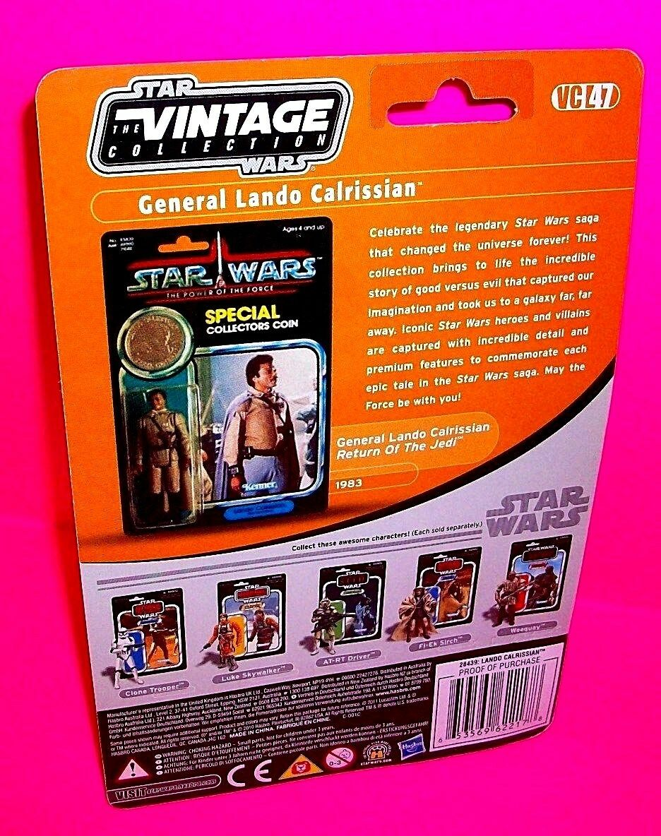 GENERAL LANDO CALRISSIAN Vintage Collection redJ STAR STAR STAR WARS Action Figure VC47 1a01d4