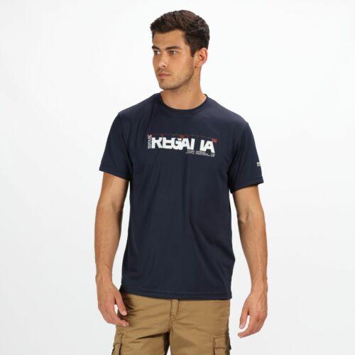 Regatta Men/'s Tancredo II Printed T-Shirt Blue