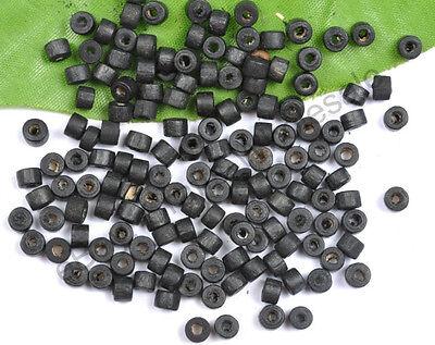 Wholesale 200pcs Bead Wood Tube Spacer Beads 4X3MM 12Colors U PICK