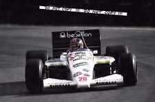 9x6 Photograph, Piercarlo Ghinzani , F1 Toleman-Hart TG185, European GP 1985