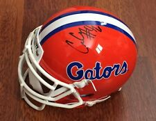CECE JEFFERSON HAND SIGNED FLORIDA GATORS SCHUTT MINI HELMET W/COA