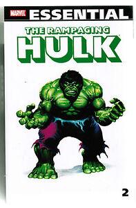 Marvel-Essential-Rampaging-Hulk-Volume-2-TPB-new-unread