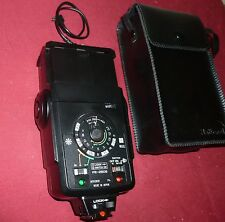 Vintage National  Camera Flash Model PE-250S with case