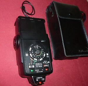 Vintage National Camera Flash Model PE-250S with case | eBay