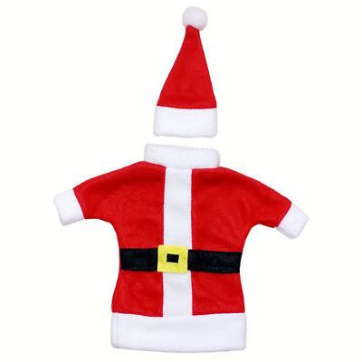 Natale Bottiglia Di Vino Copertura Regalo Babbo Natale Costume Imballaggio Vino- Squisita (In) Esecuzione