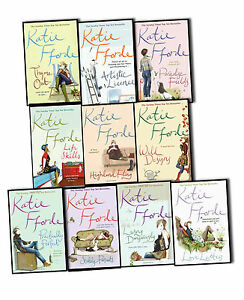 Katie-Fford-10-Books-Collection-Pack-Set-Love-Letters-Highland-Fling-Romance-BN