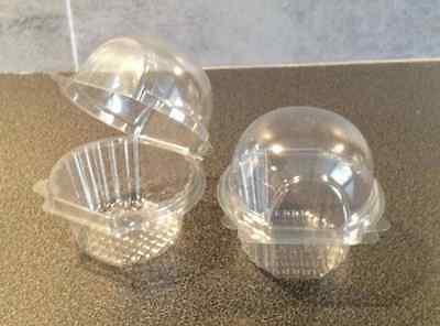 75 Piccolo/misura Media In Plastica Singolo Cupcake Giorno Pirottini Per Muffin Texture Chiara