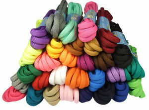 ROUND-COLOURED-SHOE-LACES-SHOELACES-BOOTLACES-5mm-WIDE-5-LENGTHS-30-COLOURS