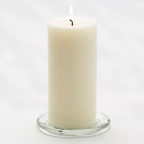 "13 Colors Richland Pillar Candles 3/"" x 6/"" Set of 12 Long Burning Wedding Home"