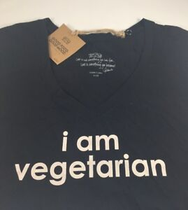 Image Is Loading Peace Love World T Shirt I Am Vegetarian