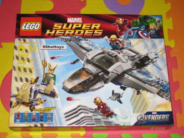 Lego Marvel Super Heroes 6869  quinjet aerial battle NEUF  meilleure offre