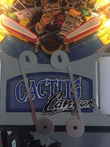 Cactus Canyon Slingshot Protectors CC Pinball Protector