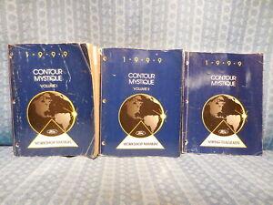 1999 Ford Contour / Mercury Mystique OEM Set of 3 Original ...