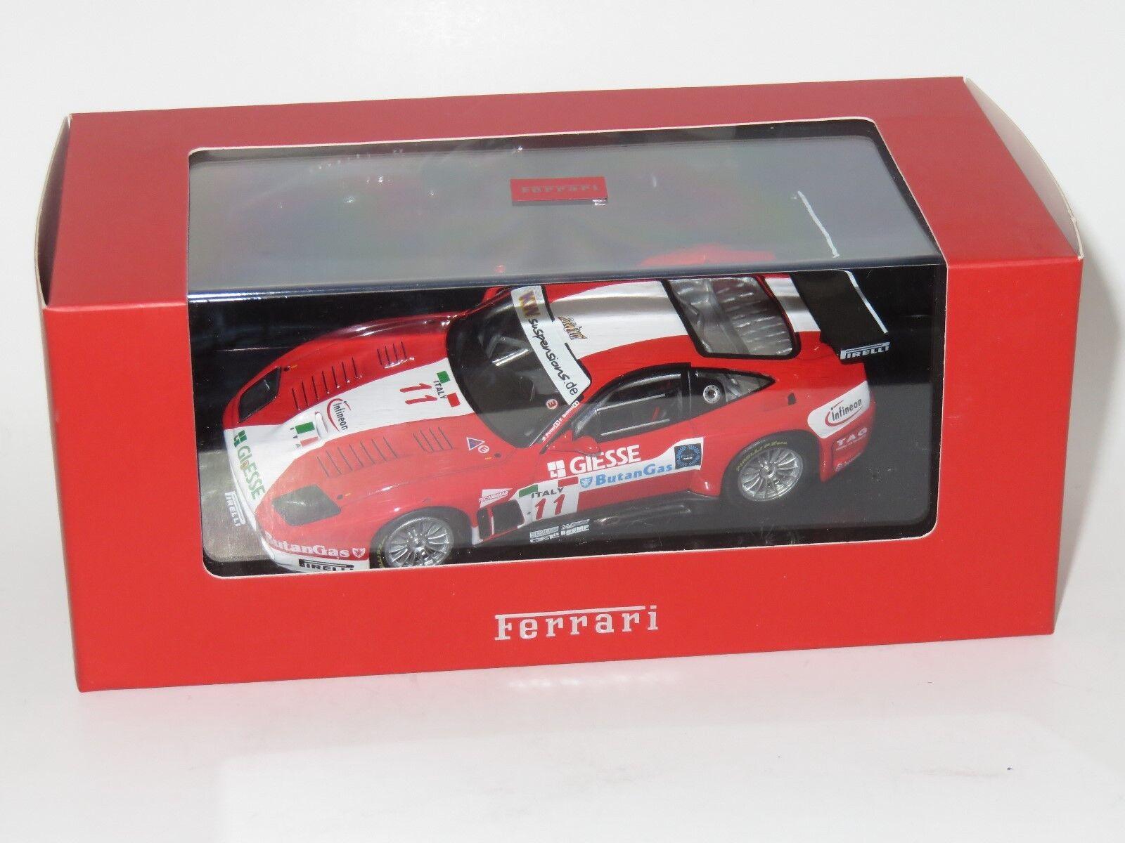 1 43 Ferrari 575M  FIA GT Championship 2004 Monza P.Peter   F.Babini