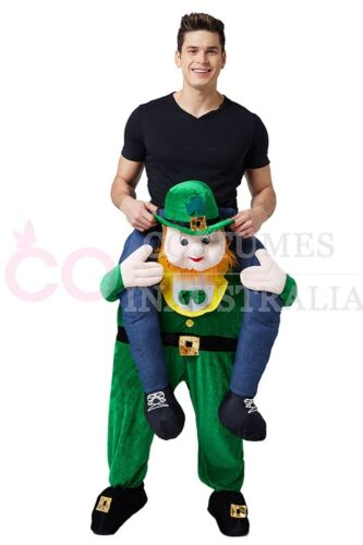 Adult Funny Carry Fancy Dress Ride On Me Costume Fancy Pants Party Mens Mascot
