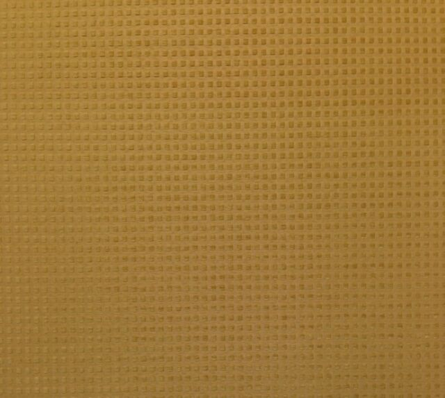 """CRYPTON® AVERY SQUARES GOLD CHENILLE STAIN REPELLENT FABRIC BY THE YARD 55""""W"""