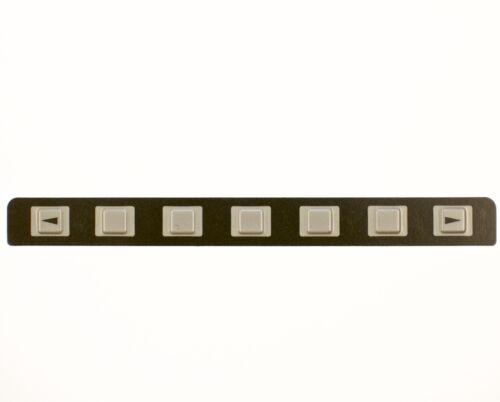 FANUC 7 key Keysheet Keypad A98L-0001-0660#A For 0iA//0iB