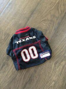 outlet store edec9 e01e5 Details about Cute Pet Dog Cat Clothes T Shirt Shirts Apparel Coat NFL  Houston Texans size L