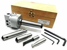 Boring Head 62mm Dia Carbide Brazed Sets 1 Div001mm Mt3m12x175 Drawbar Usa