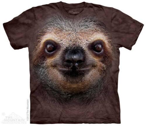 The Mountain Paresseux Visage Poilu Slow Forêt Mignon Animal Sauvage T-Shirt