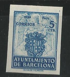 ESPANA-BARCELONA-1944-EDIFIL-56-S-D-NUEVO-SIN-GOMA