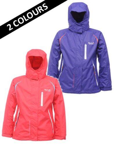 Regatta Cherrypie Girls Jacket Waterproof Breathable Coat Childrens RKW073