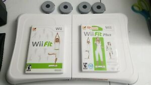 Nintendo Wii Bundle Balance Board With Wii Fit Plus Game And Board Tested