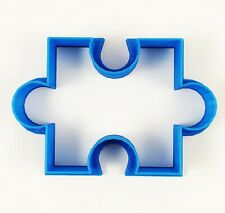 Lekue Cookie Cutter Puzzle Red Silicone Bakeware Hearts