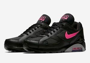 Air Max 180 Black Pink Blast AQ9974 001