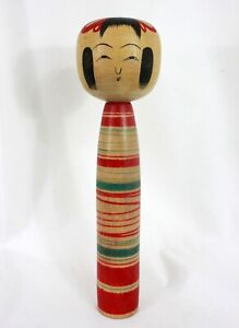 DENTO-KOKESHI-VINTAGE-Poupee-japonaise-Tsuchiyu-Made-in-Japan-068
