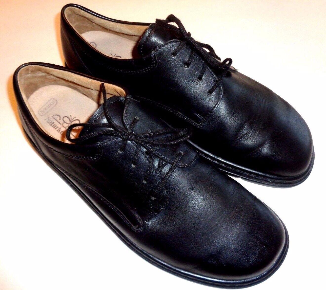 SOLIDUS Naturkomfort Oxford Shoes ~ ~ Men's Sz US 13 ~ Shoes Black 6df8a2