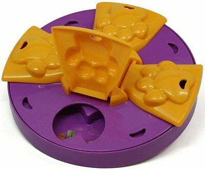 Kyjen 2405 Paw Flapper Treat Toy Dog Toys Scent Puzzle Training Toy, Large,