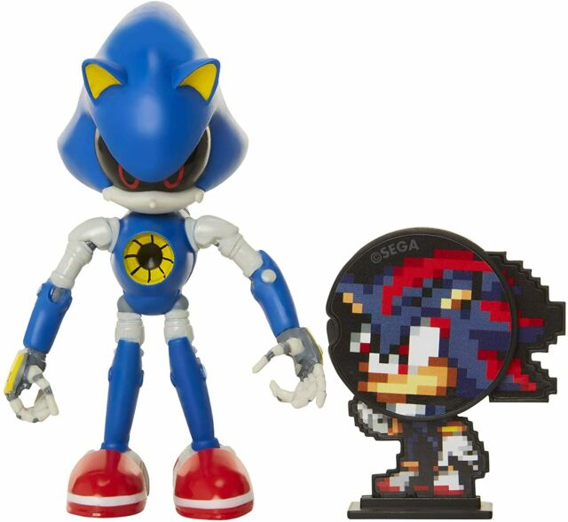 Sonic The Hedgehog Metal Sonic Jakks Pacific Bendable Action Figure Series 2 For Sale Online Ebay