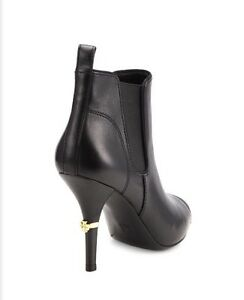 44822f4ff92 New Tory Burch Bernice Pointy Toe Fashion Ankle Black Leather ...