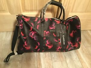 1a9e004afd37 BEBE NWT  200 Aria Weekender Duffel Travel Bag Floral Carry On ...