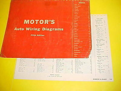 1960 1961 1962 1963 1964 DODGE DART GT POLARA 880 ...