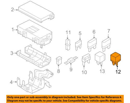 FORD OEM-Horn Relay F5TZ14N089B
