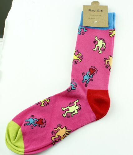 High Quality Combed Cotton Dance Funny Crew Socks For Men// Lady One SIZE