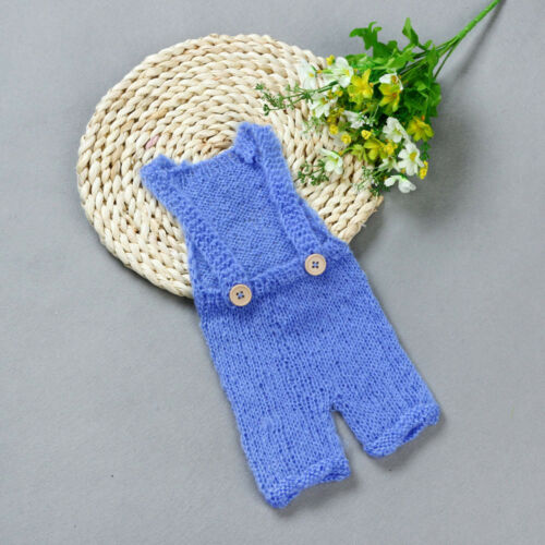 Newborn Babys Knit Crochet Clothes Costume Photo Photography Props Outfit SL