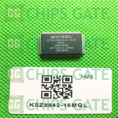QFP 1PCS nuevo KSZ8842-16MQL Micrel D//C:08